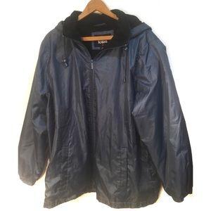 Totes jacket  w/ detachable hood Size 2XL